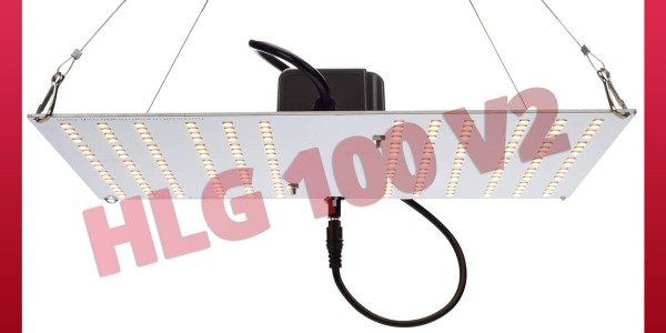 HLG 100 V2 - Powerful LED Lighting for Plants - Horticulture Lighting Groupe